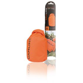 CL-DB005 Outdoor dry bag oranje/zwart 5 l