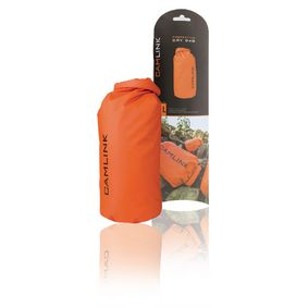CL-DB010 Outdoor dry bag oranje/zwart 10 l