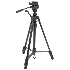 CL-TPPRE20 Premium camera/video statief pan & tilt 148 cm zwart