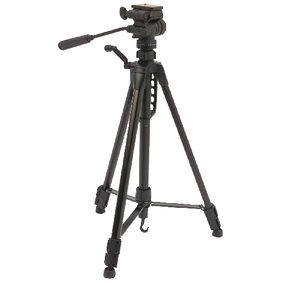 CL-TPPRE23 Premium camera/video statief pan & tilt 160 cm zwart