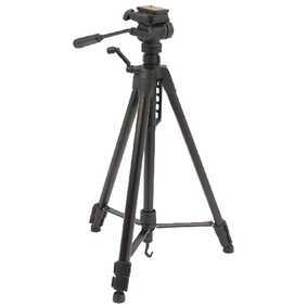 CL-TPPRE27 Premium camera/video statief pan & tilt 165 cm zwart