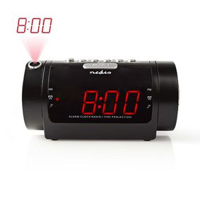CLAR005BK Digitale wekkerradio met display | led van 0,9