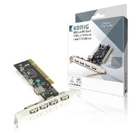 CMP-USBCARD2HS PCI Kaart USB 2.0 Normal