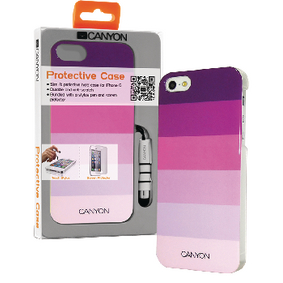 CNA-I5C02P Smartphone hard-case apple iphone 5s / apple iphone 5 roze/paars