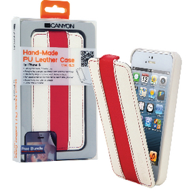 CNA-I5L01WR Tablet flip-case apple iphone 5s wit/rood