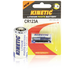 CR123A Lithium Batterij CR123A 3 V 1-Blister