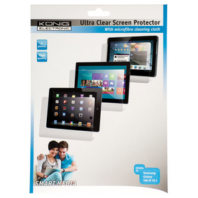 CS10GALT3S100 Ultra-clear screenprotector samsung galaxy tab 3 10.1