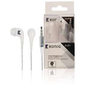CSHPIER100WH Hoofdtelefoon in-ear 3.5 mm wit