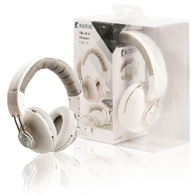 CSHSOVE200WH Headset over-ear 3.5 mm ingebouwde microfoon wit
