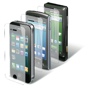 CSIPH4SUC100 Ultra-clear screenprotector apple iphone 4 / apple iphone 4s