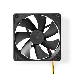 DCFAN14025BK Computerventilator| dc | 140 mm | 3-pin | stil