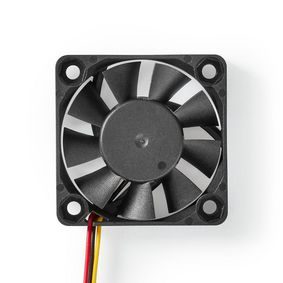 DCFAN4010BK Computerventilator| dc | 40 mm | 3-pins | stil
