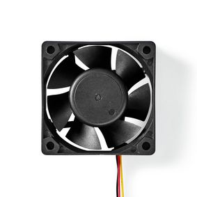 DCFAN6025BK Computerventilator| dc | 60 mm | 3-pins | stil