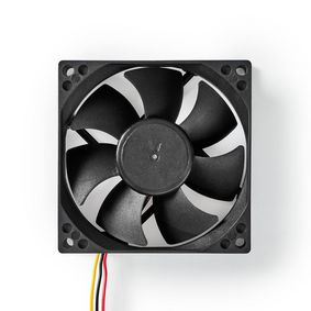 DCFAN8025BK Computerventilator| dc | 80 mm | 3-pin | stil