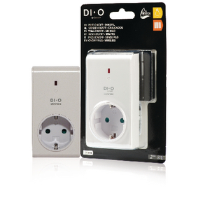 DIO-DOMO44 Smart home plug-in stopcontact - schuko / type f (cee 7/7)