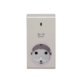 DIO-DOMO45LED Smart home dimbaar plug-in stopcontact - schuko / type f (cee 7/7)