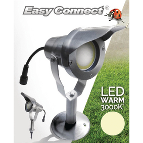 EC65270 Led tuinlamp met spies 6.5 w 3000 k