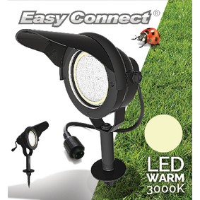 EC65350 Led tuinlamp met spies 10 w 3000 k