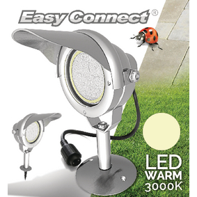 EC65370 Led tuinlamp met spies 10 w 3000 k