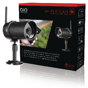 ED-CA-04 HD Smart Home IP-Camera Buiten 720P