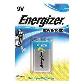 EN-53541037200 Alkaline Batterij 9 V Advanced 1-Blister