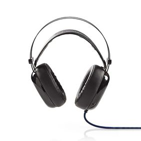GHST300BK Gaming headset | over het oor | ultra bass | led-lampje | 3,5 mm- en usb-stekkers