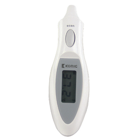 HC-EARTHERM60N Infrarood thermometer oor wit/grijs