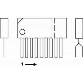 LA7845N-SAN Interface circuit
