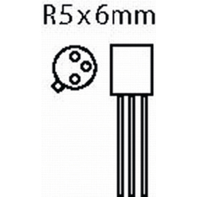 2N2222A-MBR Transistor si-n 40 vdc 0.8 a 0.5w 300mhz