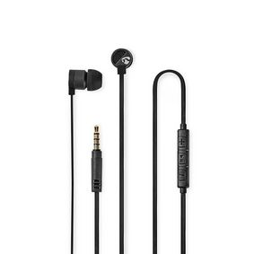 HPWD5021GY Wired headphones | 1.20 m flat cable | in-ear | built-in microphone | aluminium | grey