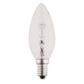 HQHE14CAND001 Halogeenlamp e14 kaars 28 w 370 lm 2800 k
