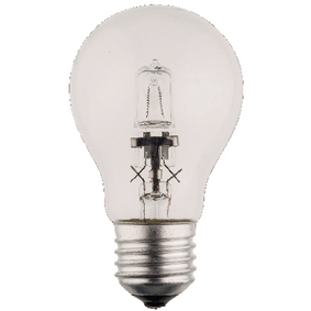 HQHE27CLAS002 Halogeenlamp e27 a55 28 w 370 lm 2800 k