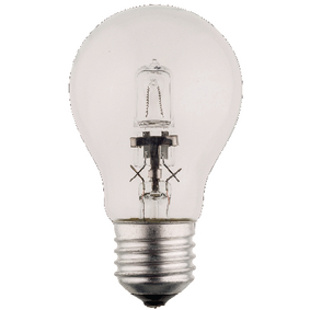HQHE27CLAS005 Halogeenlamp e27 a55 70 w 1200 lm 2800 k