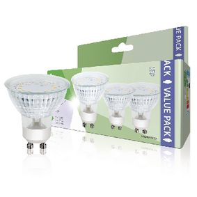 HQLGU103P01 LED-Lamp GU10 MR16 3 W 230 lm 3000 K