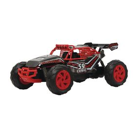 JAM-410010 R/c-buggy cubic desert rtr 2.4 ghz control 1:14 rood