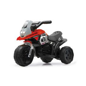 JAM-460227 R/c ride-on e-trike racer rood
