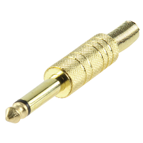 JC-032 Monoconnector 6.35 mm Male Metaal