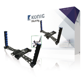 KN-RIG50N Camera/Video Rig Zwart