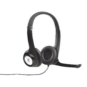 LGT-H390 Headset ANC (Active Noise Cancelling) On-Ear USB Bedraad Ingebouwde Microfoon 2.4 m Zwart