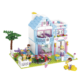 M38-B0535 Bouwstenen girls dream serie familiehuis