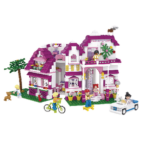 M38-B0536 Bouwstenen girls dream serie grote villa