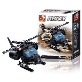 M38-B0587G Bouwstenen army serie helikopter