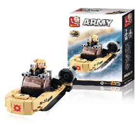 M38-B0587H Bouwstenen army serie assault boat