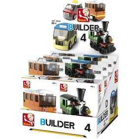 M38-B0598 Bouwstenen builder transportation