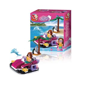 M38-B0600A Bouwstenen girls dream serie hovercraft