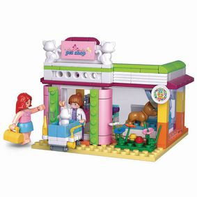 M38-B0602 Bouwstenen girls dream serie pet shop