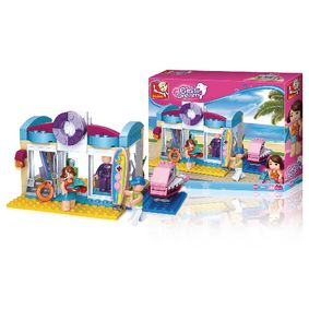 M38-B0603 Bouwstenen girl's dream watersportwinkel