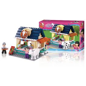 M38-B0605 Bouwstenen girl's dream strandrestaurant