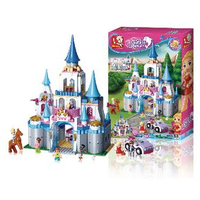 M38-B0610 Bouwstenen girl's dream speelpaleis