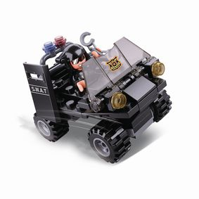 M38-B0638C Bouwstenen police serie me buggy
